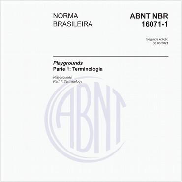 NBR16071-1 de 06/2012
