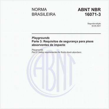 NBR16071-3 de 06/2012