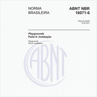NBR16071-6 de 06/2012