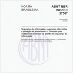 NBRISO/IEC27007