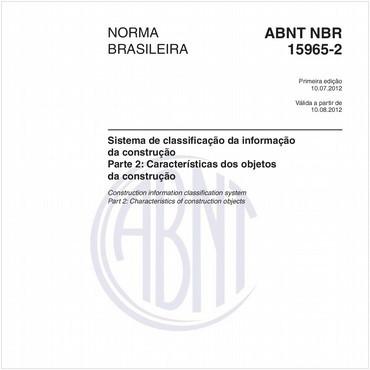 NBR15965-2 de 07/2012
