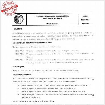 NBR7854 de 04/1983