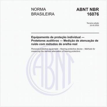 NBR16076 de 10/2016