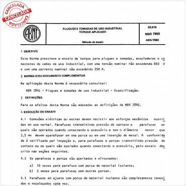 NBR7855 de 04/1983