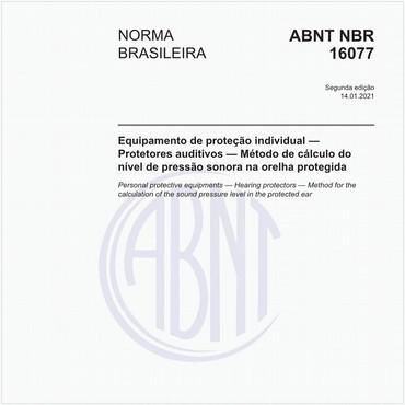 NBR16077 de 07/2012