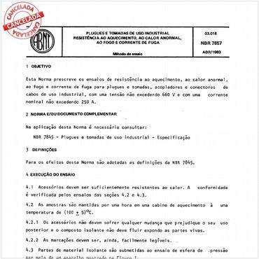 NBR7857 de 04/1983
