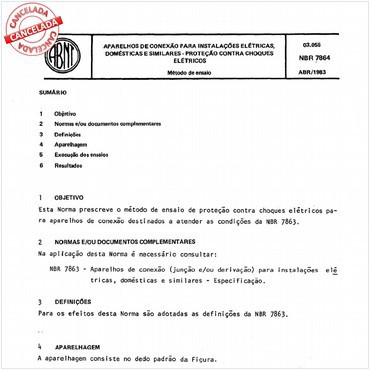 NBR7864 de 04/1983