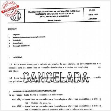 NBR7865 de 04/1983