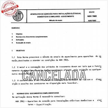 NBR7868 de 04/1983