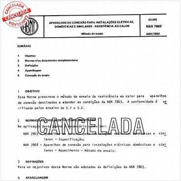 NBR7869 de 04/1983