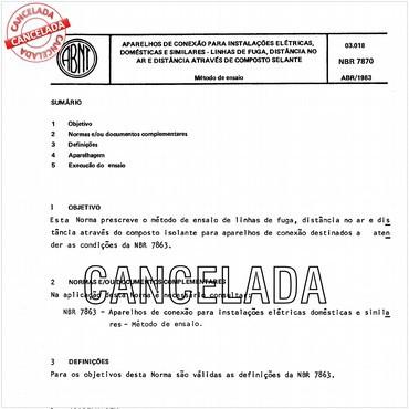 NBR7870 de 04/1983