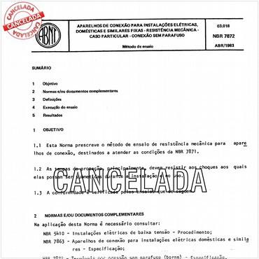 NBR7872 de 04/1983