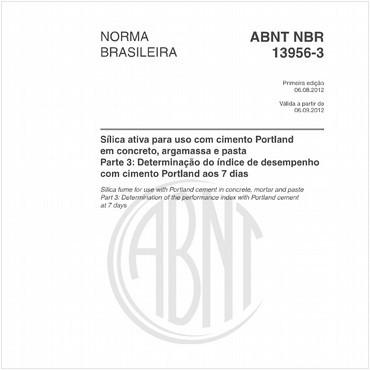 NBR13956-3 de 08/2012