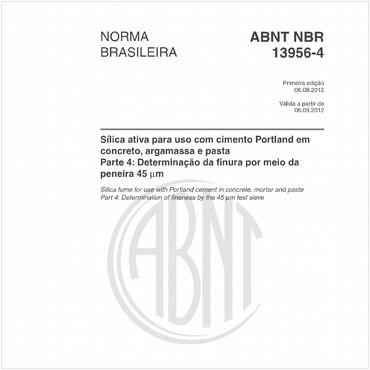 NBR13956-4 de 08/2012