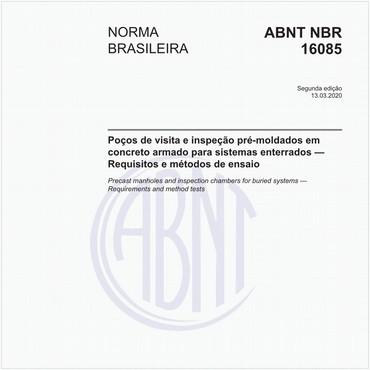 NBR16085 de 03/2020