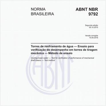 NBR9792 de 10/2015