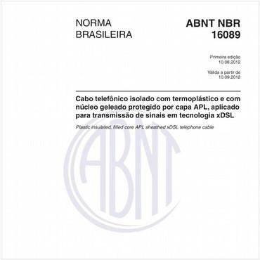NBR16089 de 08/2012