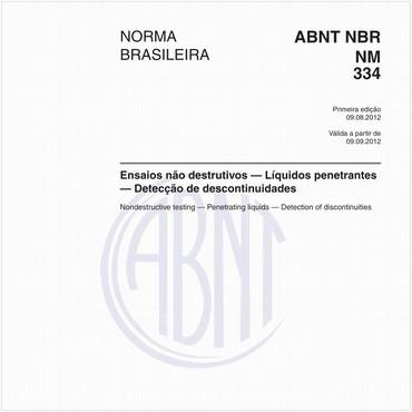NBRNM334 de 08/2012