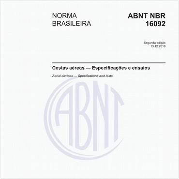 NBR16092 de 12/2018