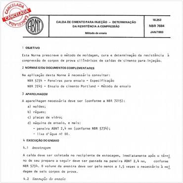 NBR7684 de 01/1983