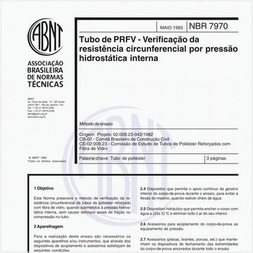 NBR7970 de 05/1983