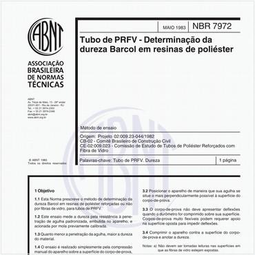 NBR7972 de 05/1983