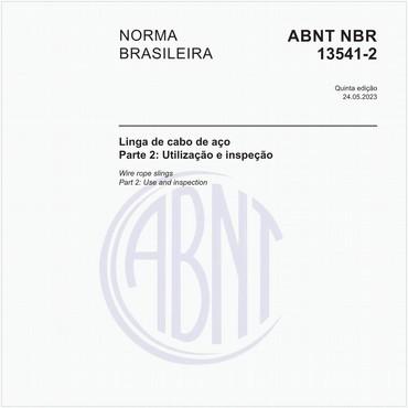 NBR13541-2 de 11/2017