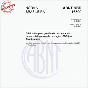 NBR16500 de 08/2012