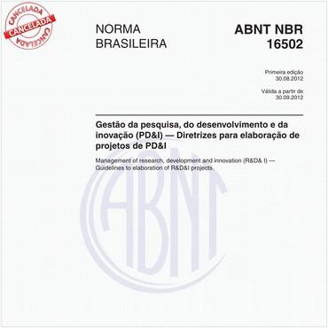 NBR16502 de 08/2012