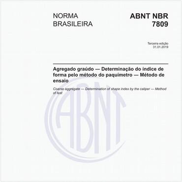 NBR7809 de 01/2019