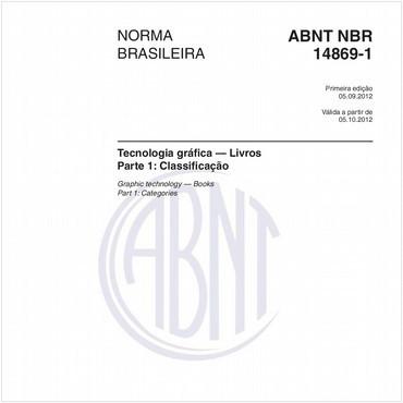 NBR14869-1 de 09/2012