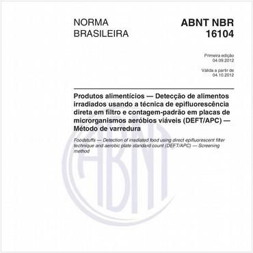 NBR16104 de 09/2012