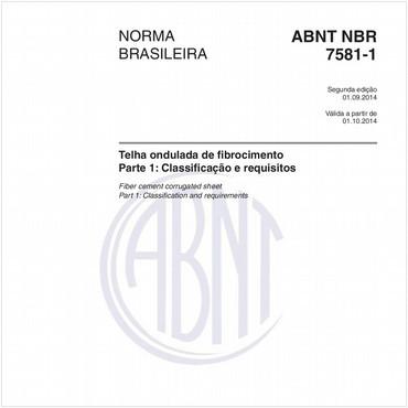 NBR7581-1 de 09/2014