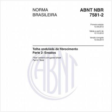 NBR7581-2 de 09/2012
