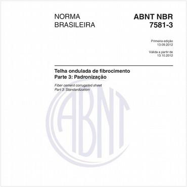 NBR7581-3 de 09/2012