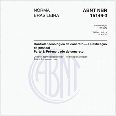 NBR15146-3 de 09/2012