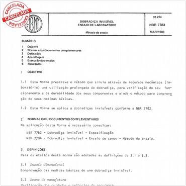 NBR7783 de 03/1983