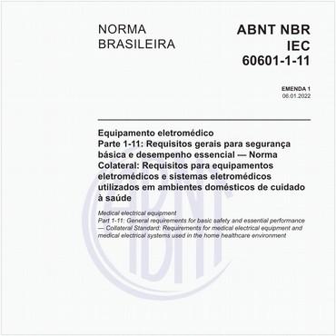 NBRIEC60601-1-11 de 09/2012