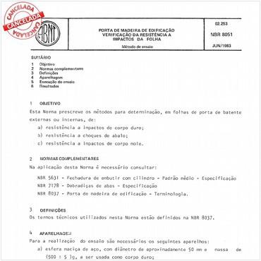 NBR8051 de 06/1983