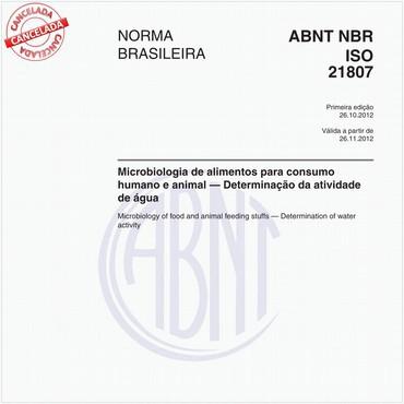 NBRISO21807 de 10/2012