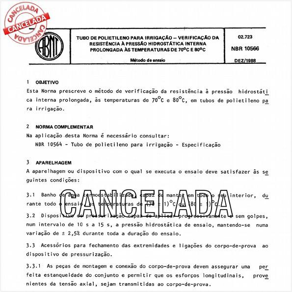 NBR10566 de 05/2011