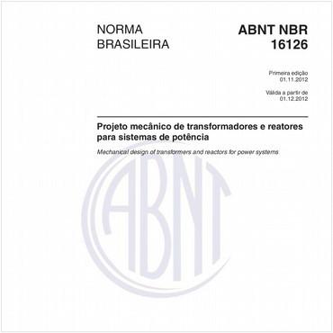 NBR16126 de 11/2012