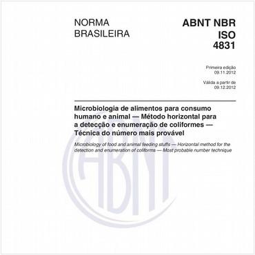 NBRISO4831 de 11/2012