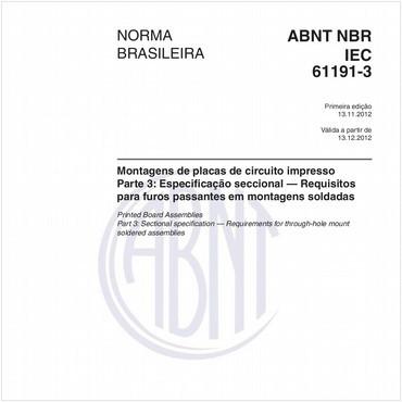 NBRIEC61191-3 de 11/2012
