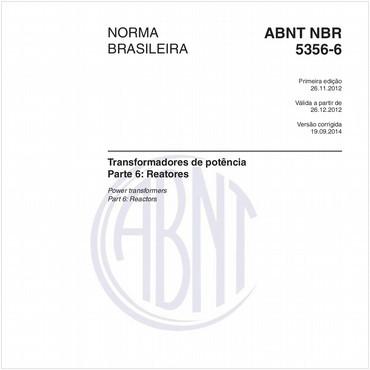 NBR5356-6 de 11/2012