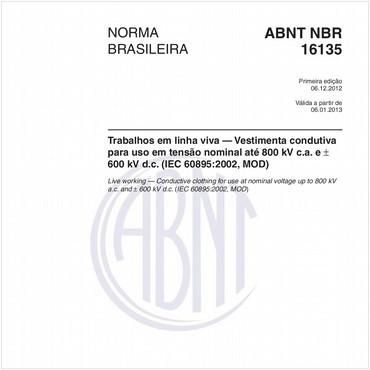 NBR16135 de 12/2012