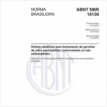 NBR16136 de 12/2012