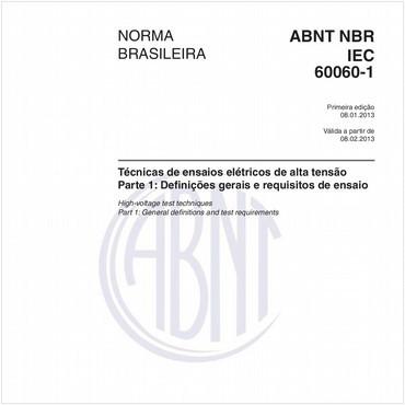 NBRIEC60060-1 de 01/2013
