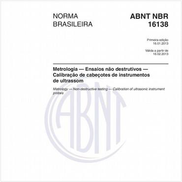 NBR16138 de 01/2013