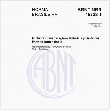 NBR15723-1 de 01/2013